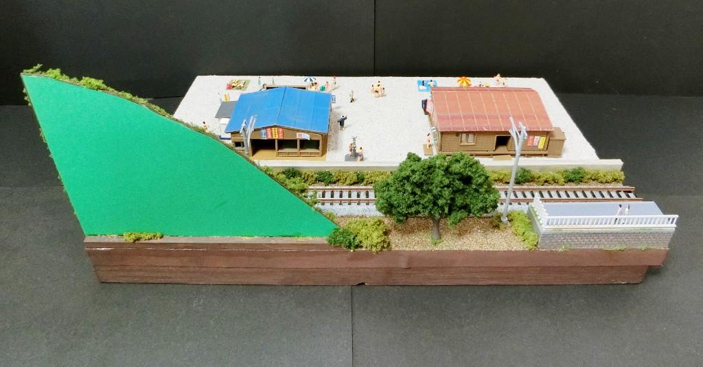 ワンショットジオラマ・夏の海岸-1106