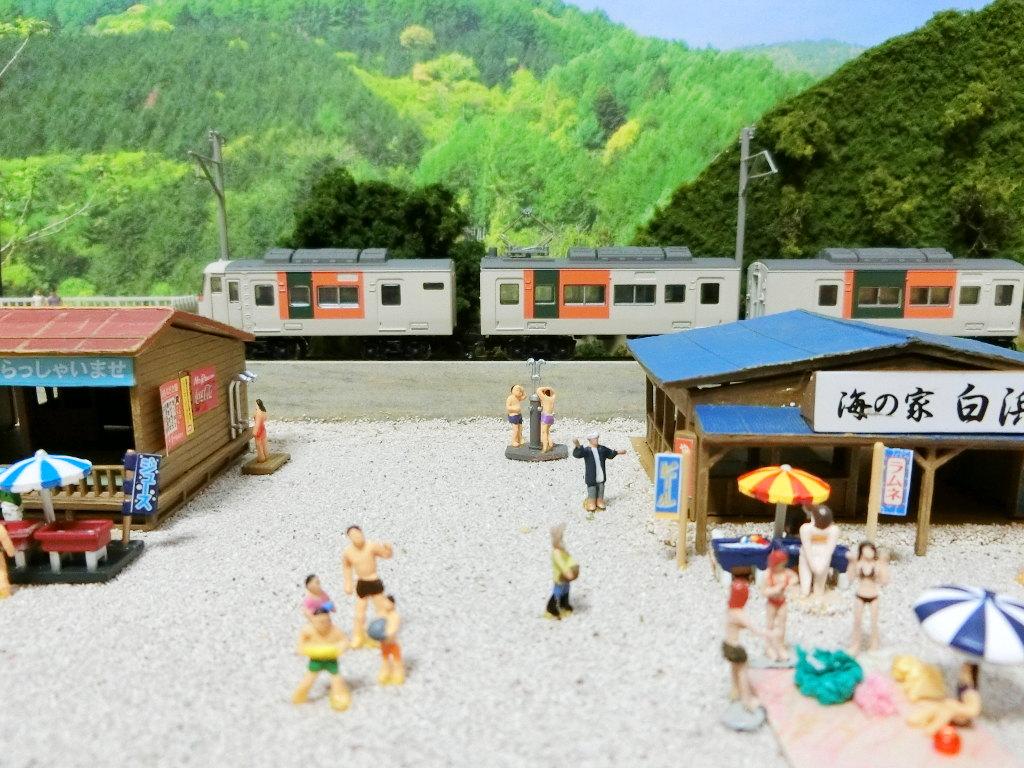 ワンショットジオラマ・夏の海岸-1116
