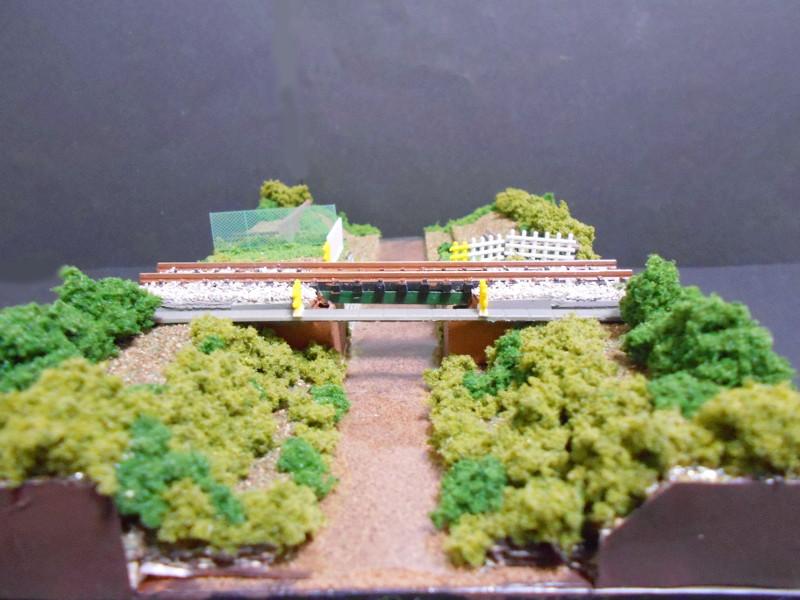 ワンショットジオラマ・玉川上水と西武線・鷹の台駅-2117