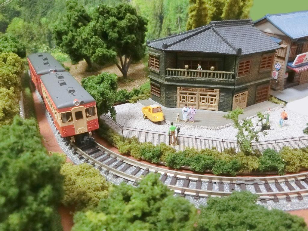 線路に沿えるお手軽ジオラマカーブ編・2020春-1210