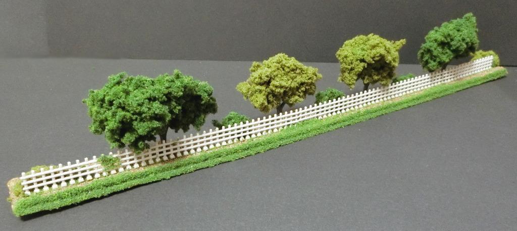 線路に沿えるお手軽ジオラマ直線編・2020春-1107
