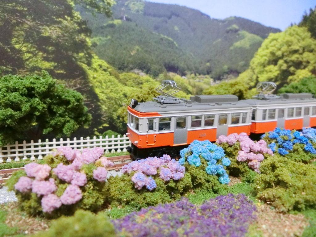 線路に沿えるお手軽ジオラマ直線編・2020春-1110