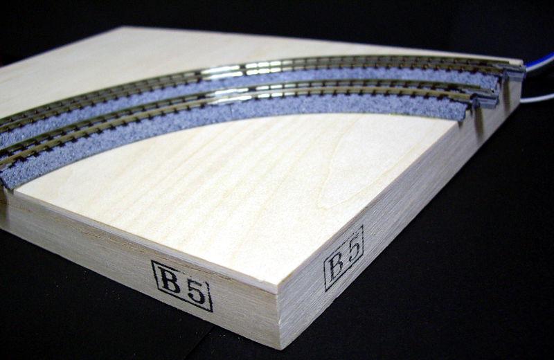 複線ミニモジュールレイアウトその1・ベース編-1109
