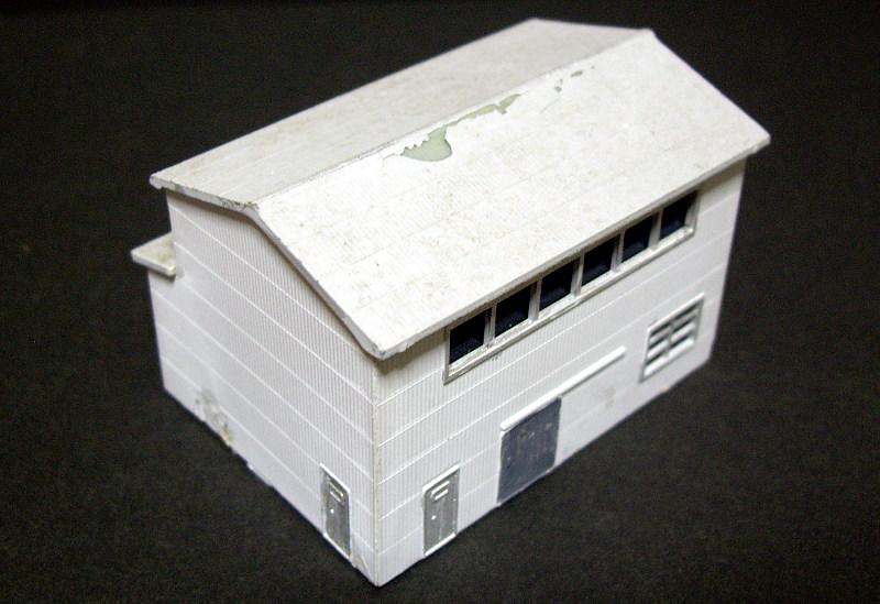 単線ミニモジュールレイアウト・S字工場-1318