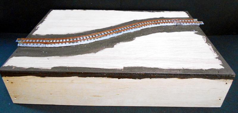 単線ミニモジュールレイアウト・S字トンネル-1202