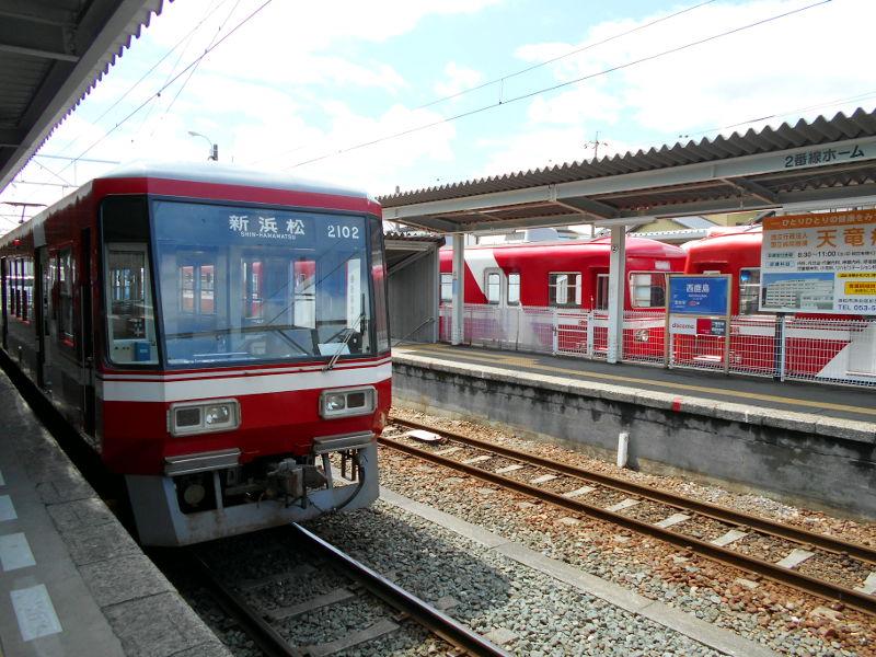 浜松・遠州鉄道2015その1・新浜松駅から西鹿島駅へ-4225