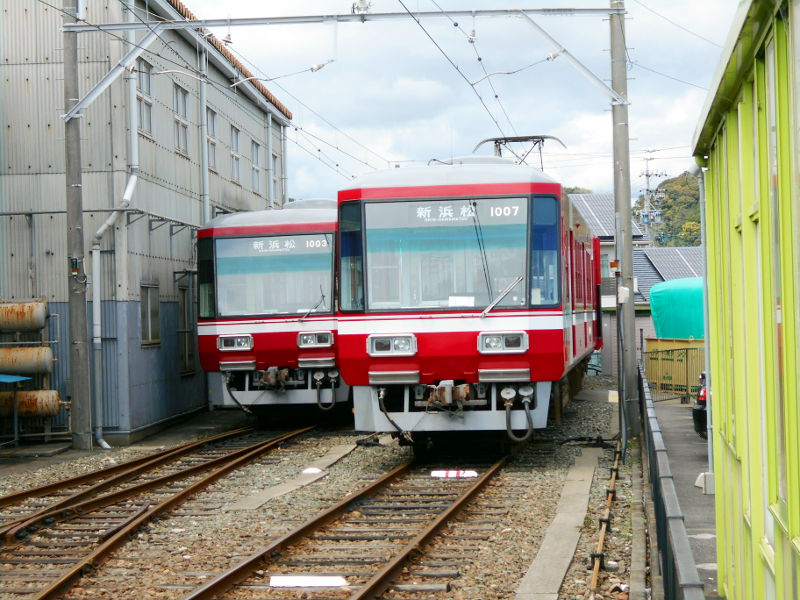 浜松・遠州鉄道2015その3・西鹿島駅から浜松城へ-4401