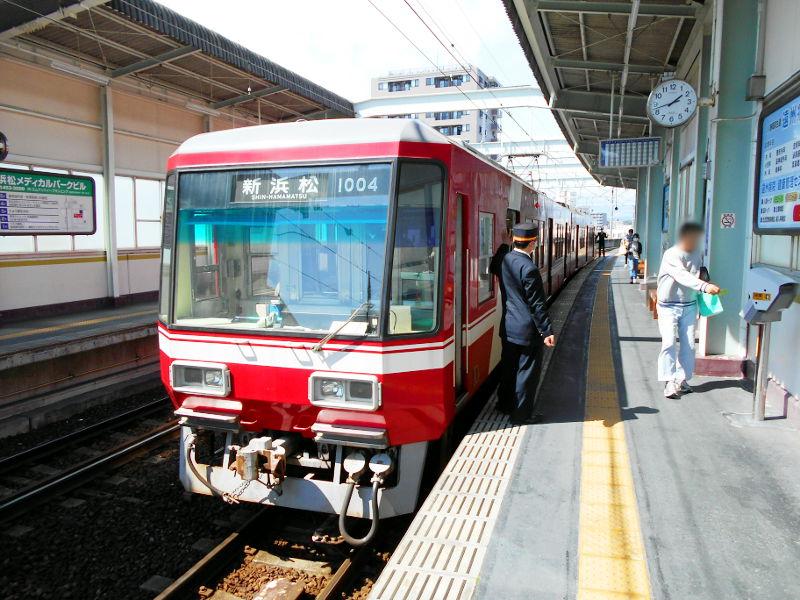 浜松・遠州鉄道2015その3・西鹿島駅から浜松城へ-4417