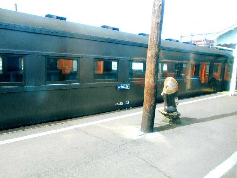 静岡・大井川鐵道のSL・新金谷駅2016-1308