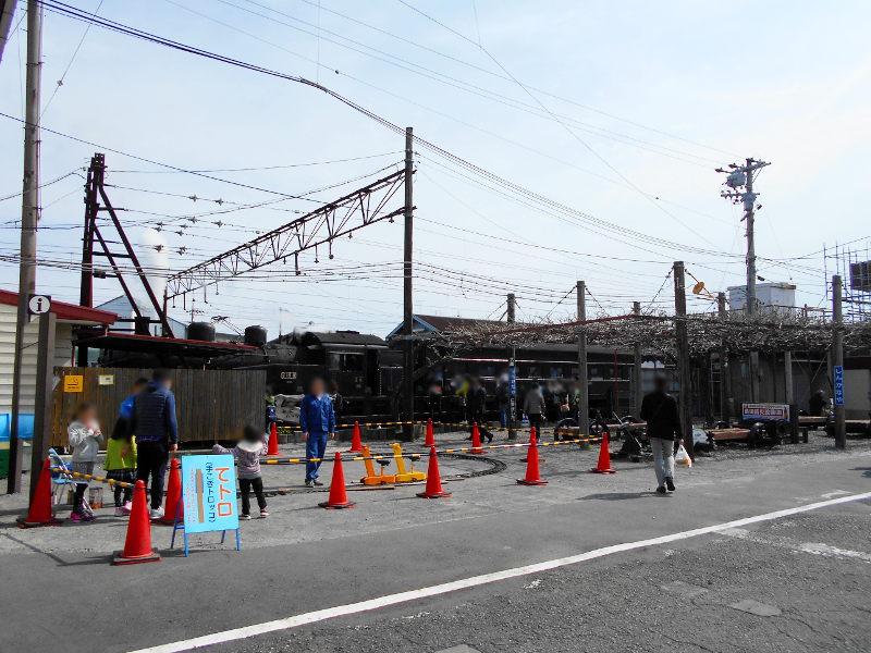静岡・大井川鐵道のSL・新金谷駅2016-1314