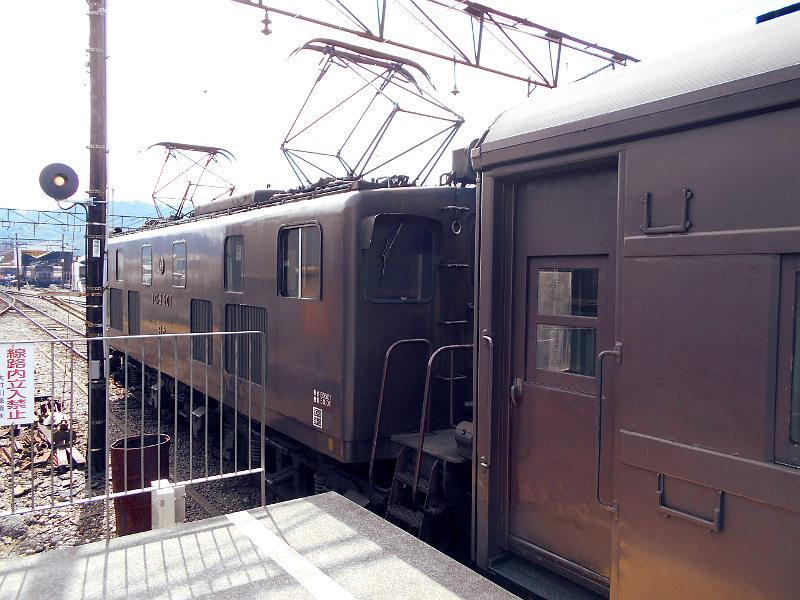 静岡・大井川鐵道のSL・新金谷駅2016-1323