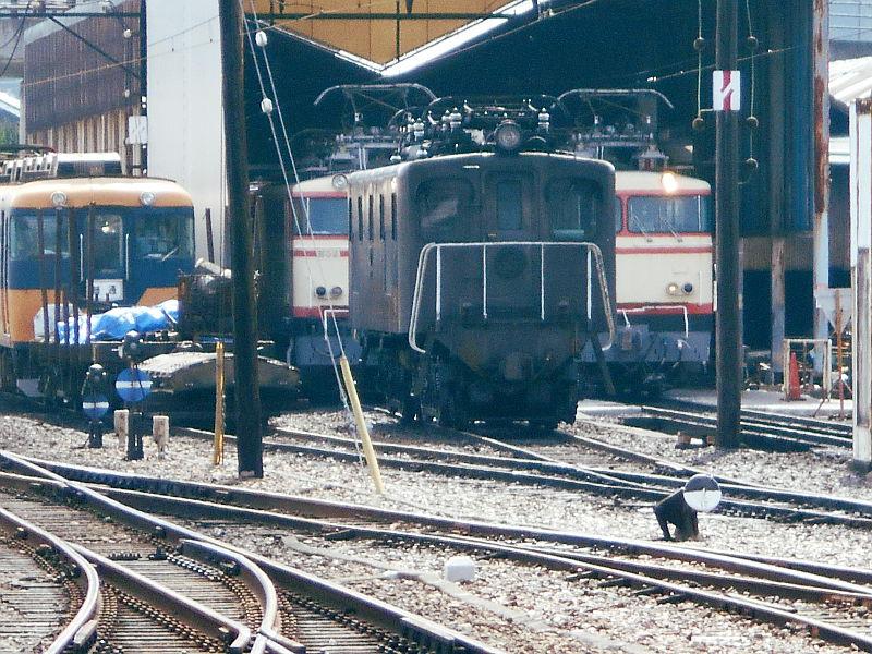 静岡・大井川鐵道のSL・新金谷駅2016-1325