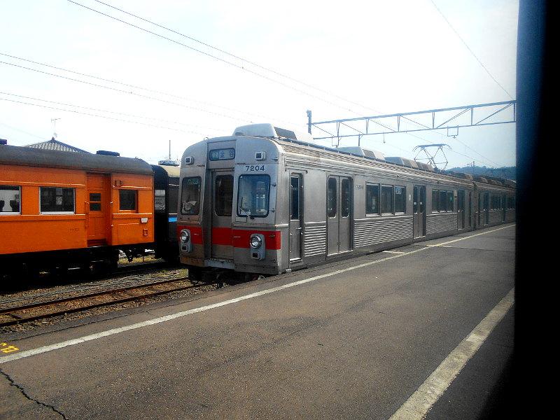 静岡・大井川鐵道のSL・新金谷駅2016-1332