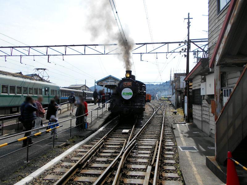 静岡・大井川鐵道のSL・車窓の風景2016-1401
