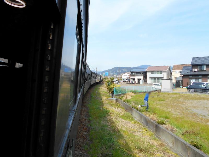 静岡・大井川鐵道のSL・車窓の風景2016-1402