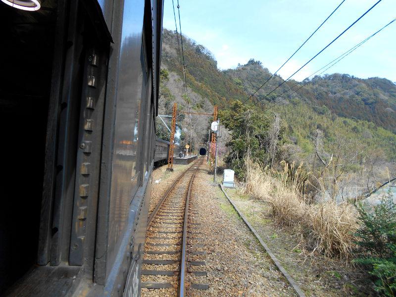 静岡・大井川鐵道のSL・車窓の風景2016-1406