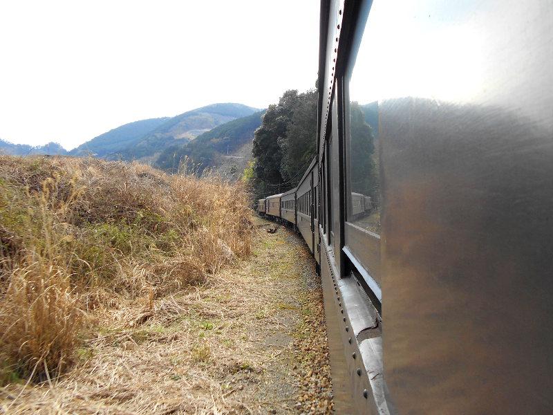 静岡・大井川鐵道のSL・車窓の風景2016-1409