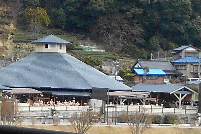 静岡・大井川鐵道のSL・車窓の風景2016-1415