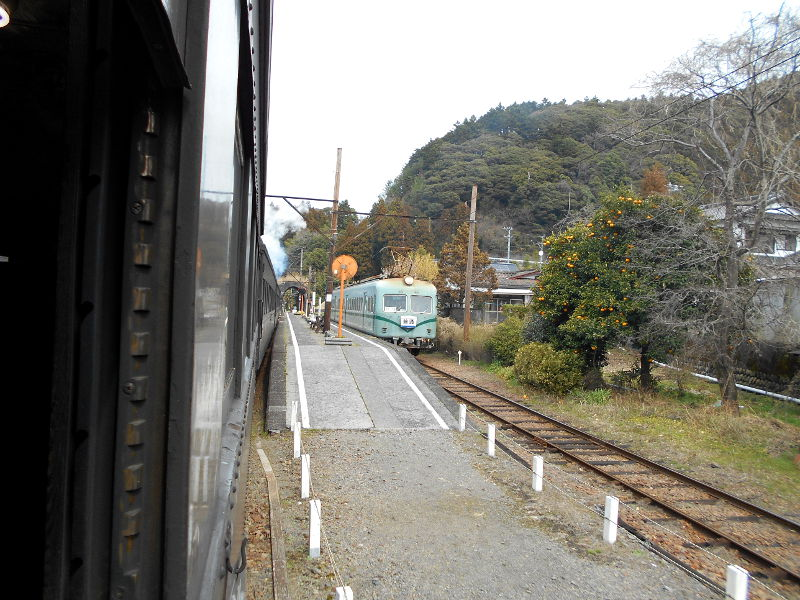 静岡・大井川鐵道のSL・車窓の風景2016-1419