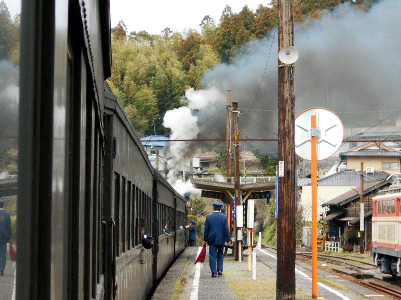 静岡・大井川鐵道のSL・千頭駅2016-1501