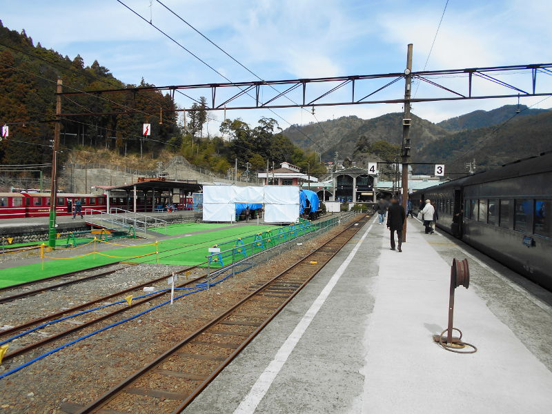 静岡・大井川鐵道のSL・千頭駅2016-1506