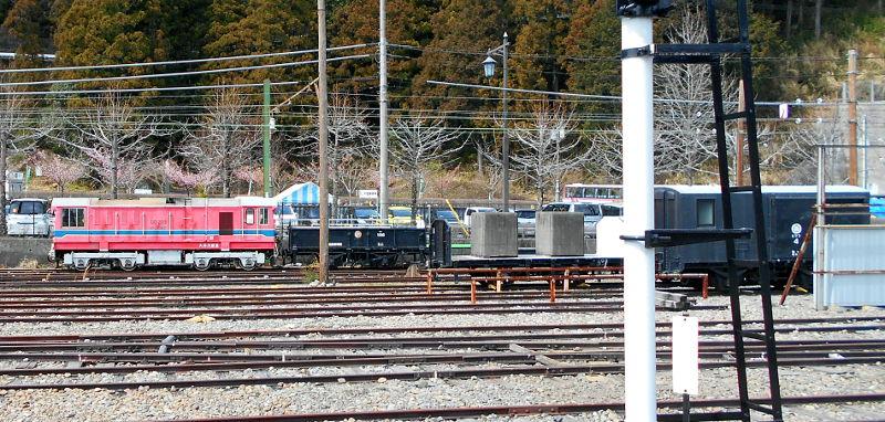 静岡・大井川鐵道のSL・千頭駅2016-1513