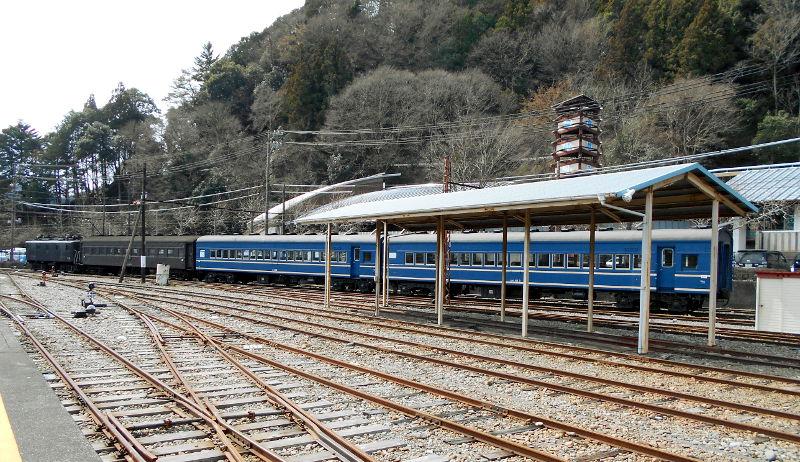 静岡・大井川鐵道のSL・千頭駅2016-1518