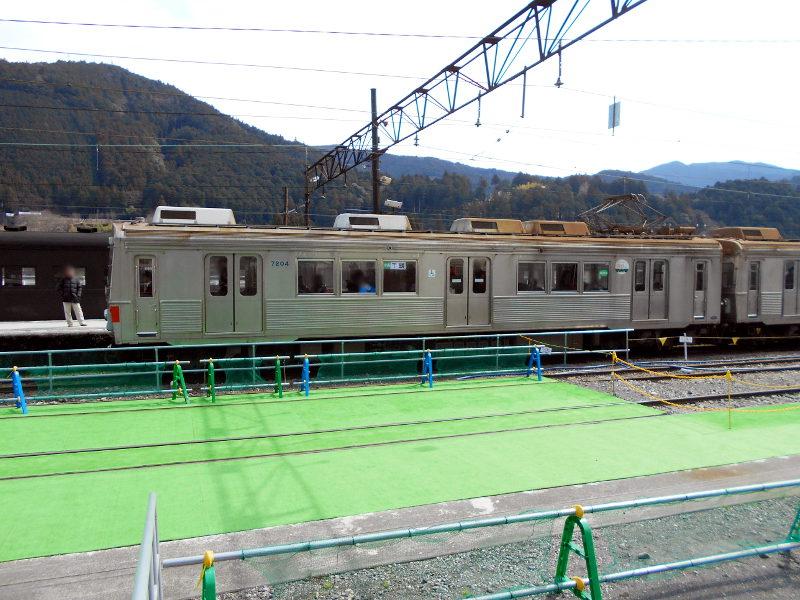 静岡・大井川鐵道のSL・千頭駅2016-1519