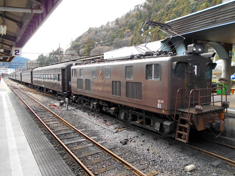 静岡・大井川鐵道のSL・千頭駅2016-1521