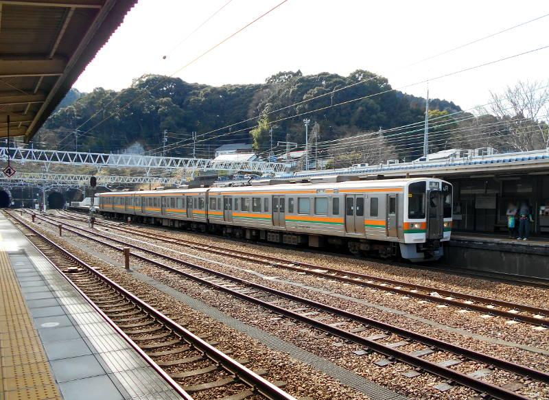静岡・大井川鐵道のSL・千頭駅2016-1531