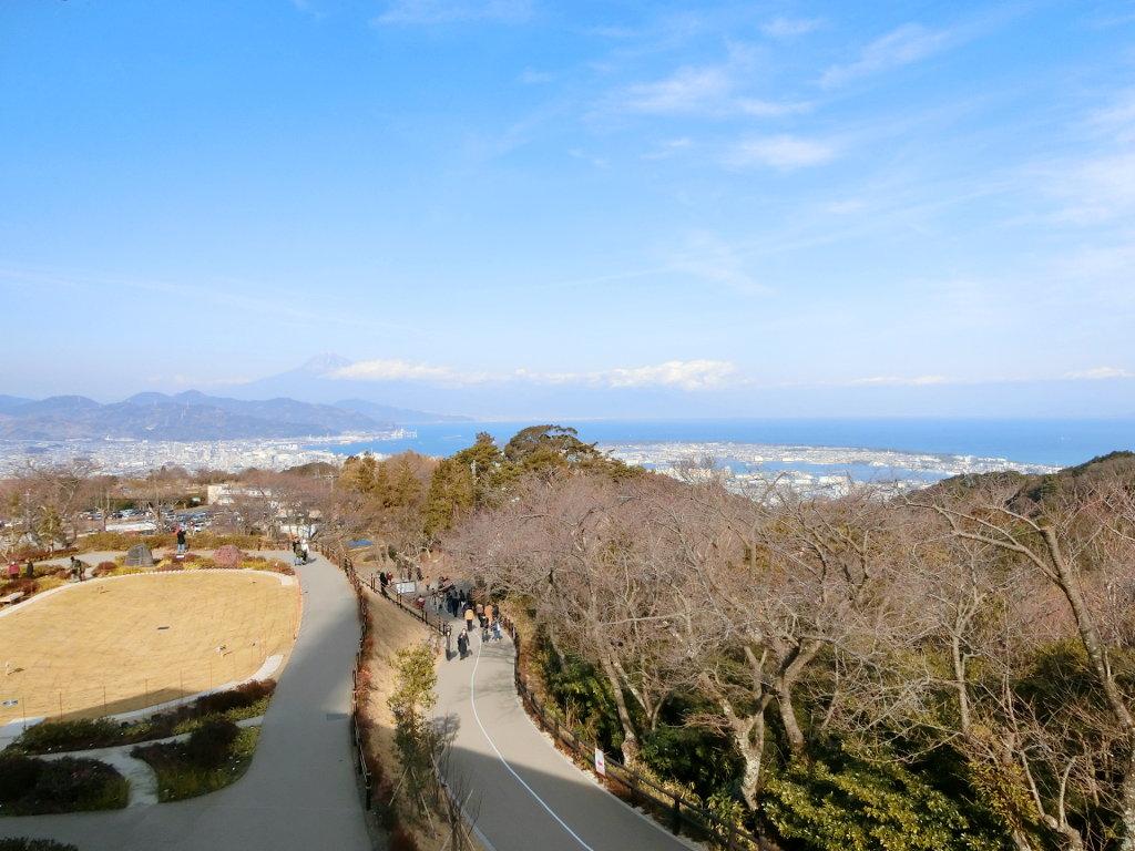 静岡で新年会2019・日本平の絶景-1119