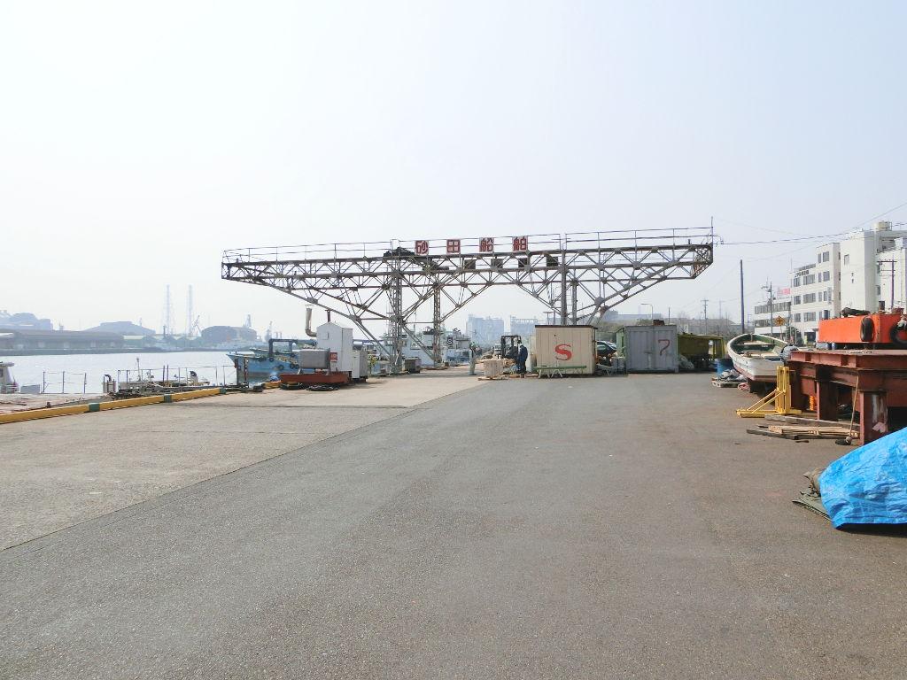 岡山・水島港の海上保安庁コンテナ2018春-1113