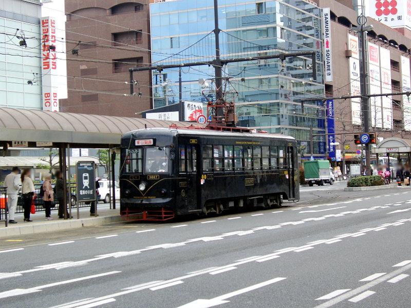 岡山・路面電車くろ2013-3004