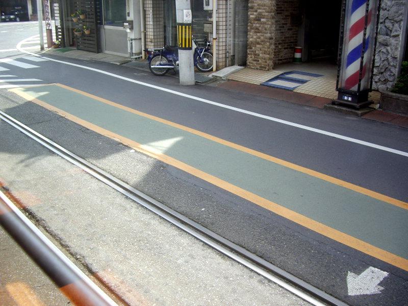 岡山・路面電車くろ2013-3012