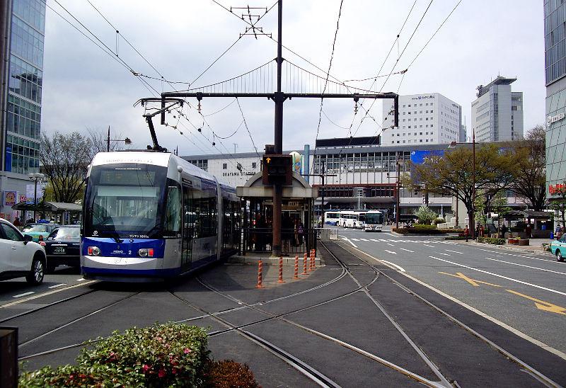 岡山・路面電車MOMO2013-5011