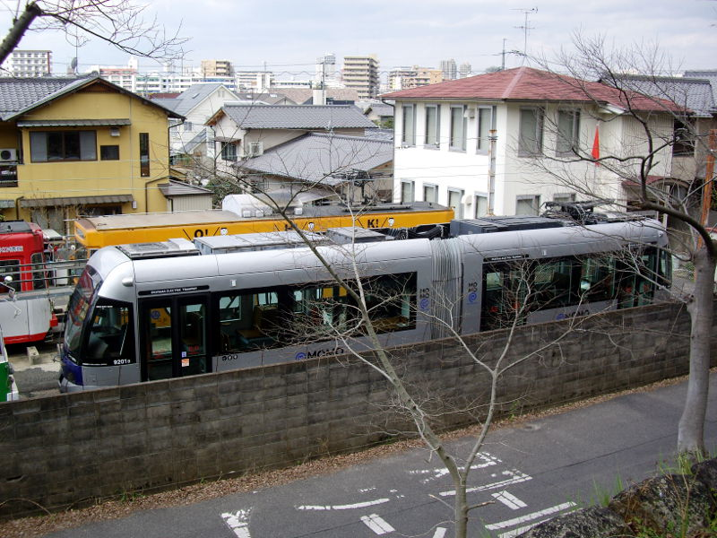岡山・路面電車MOMO2013-5013
