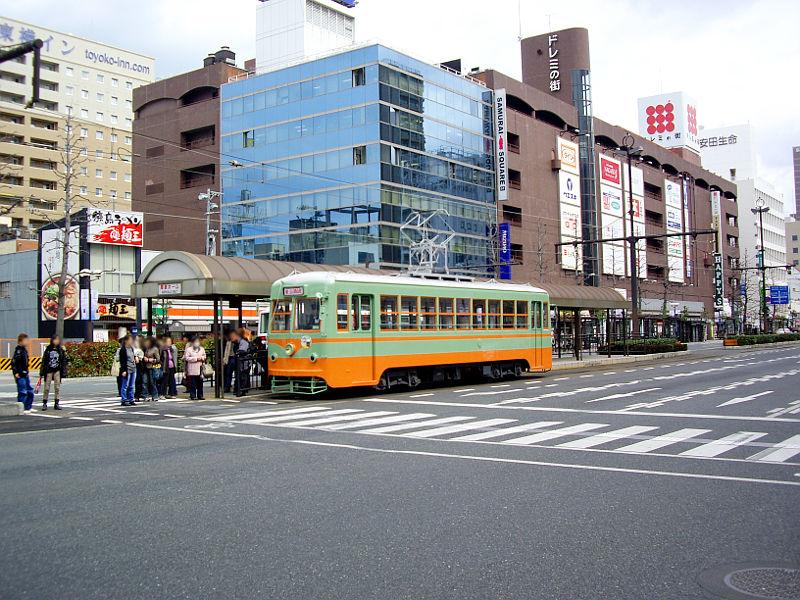岡山電気軌道2013・東武日光色-6002