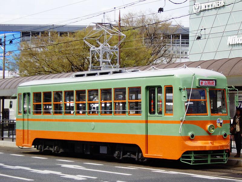 岡山電気軌道2013・東武日光色-6003