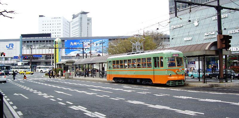 岡山電気軌道2013・東武日光色-6004