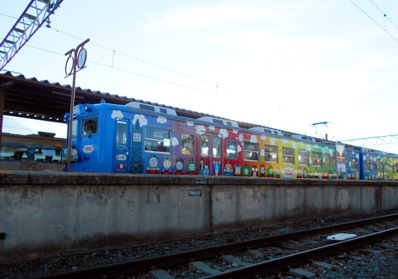 河口湖駅2015-7110