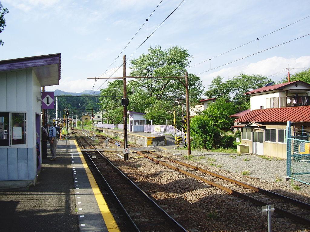 富士急行・田野倉駅2011-7021