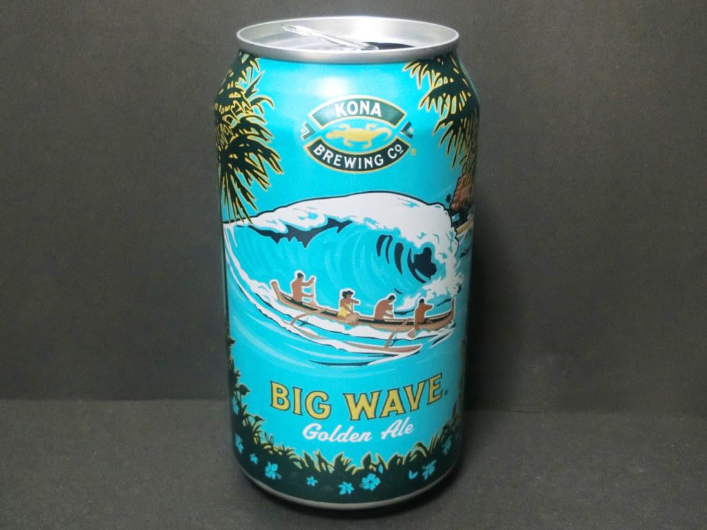 ハワイのビール「ビッグウェーブ・ゴールデンエール(Big Wave Golden Ale)」2020秋-1001