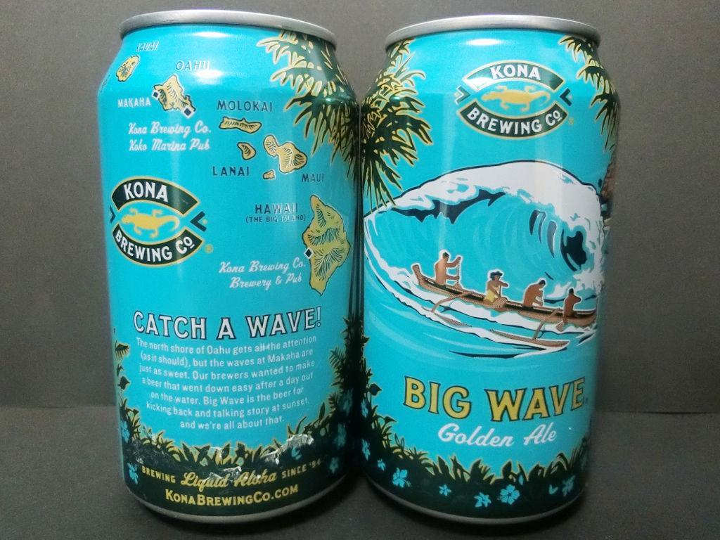 ハワイのビール「ビッグウェーブ・ゴールデンエール(Big Wave Golden Ale)」2020秋-1007