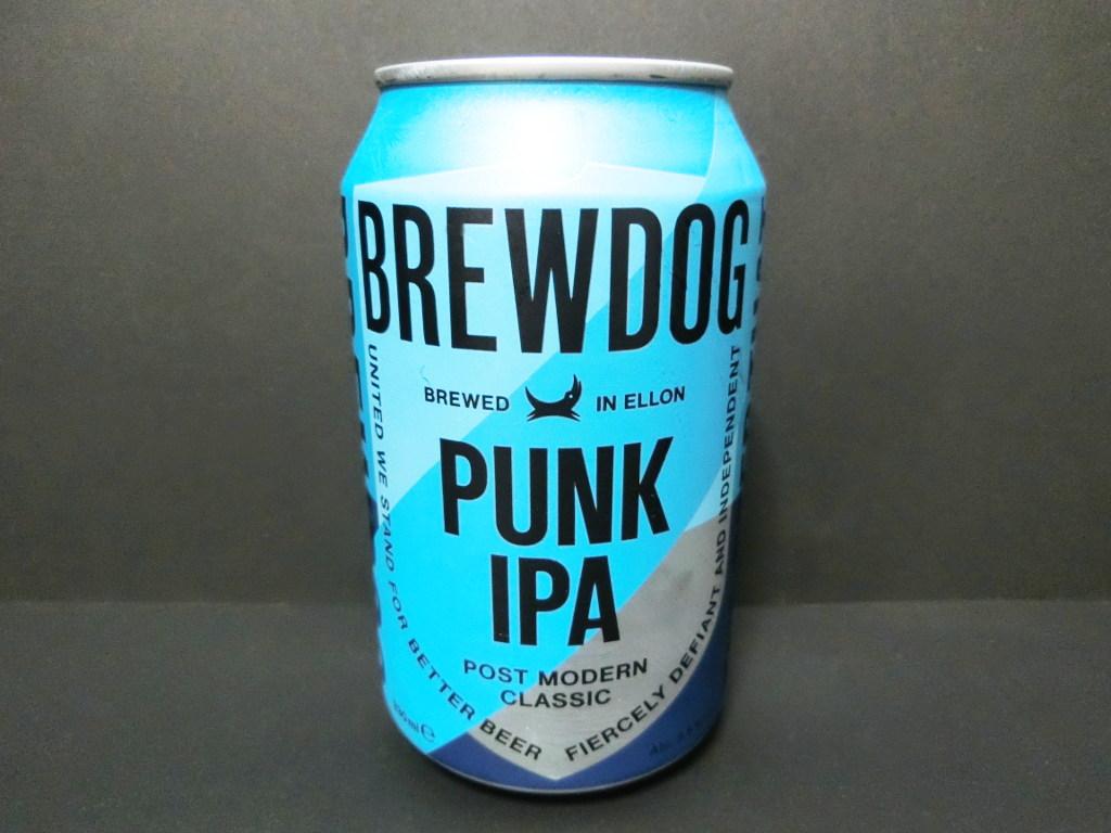 スコットランドのビール「BREWDOG PUNK IPA」2020冬-1004