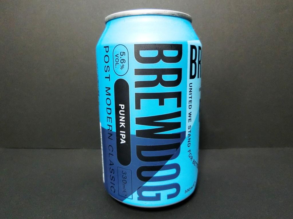 スコットランドのビール「BREWDOG PUNK IPA」2020冬-1005