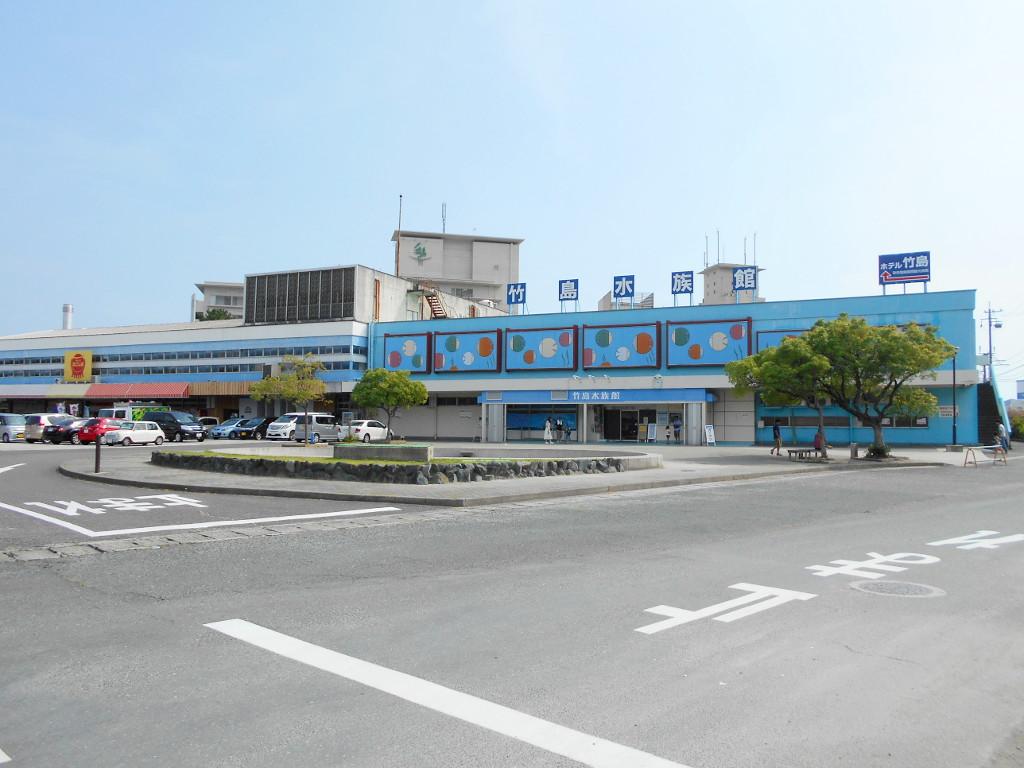 竹島水族館・超グソクムシせんべい2017-1102