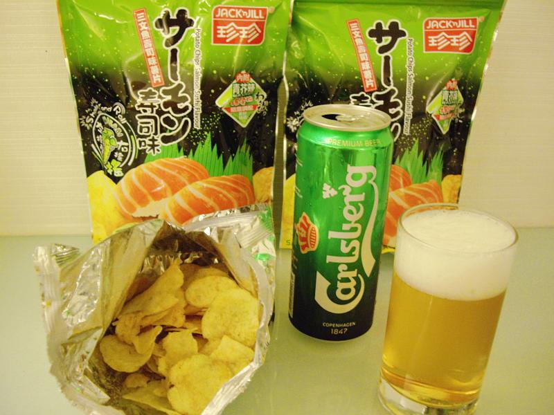 香港ポテチ・サーモン寿司味2014-509