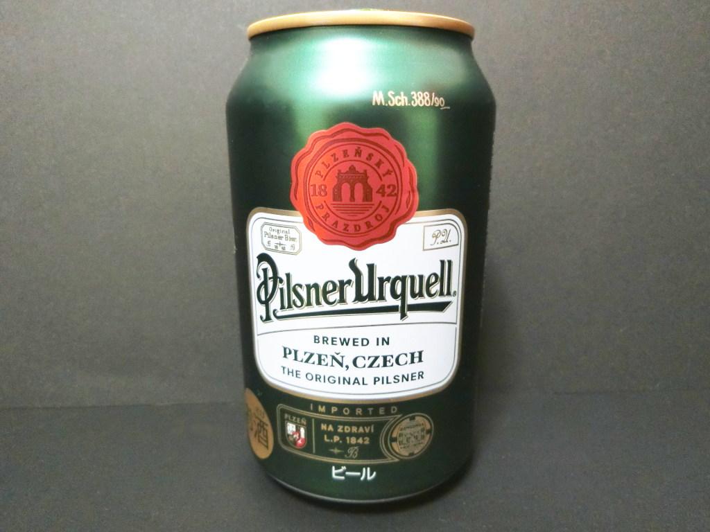 チェコのビール「ピルスナーウルケル」2021春-1001