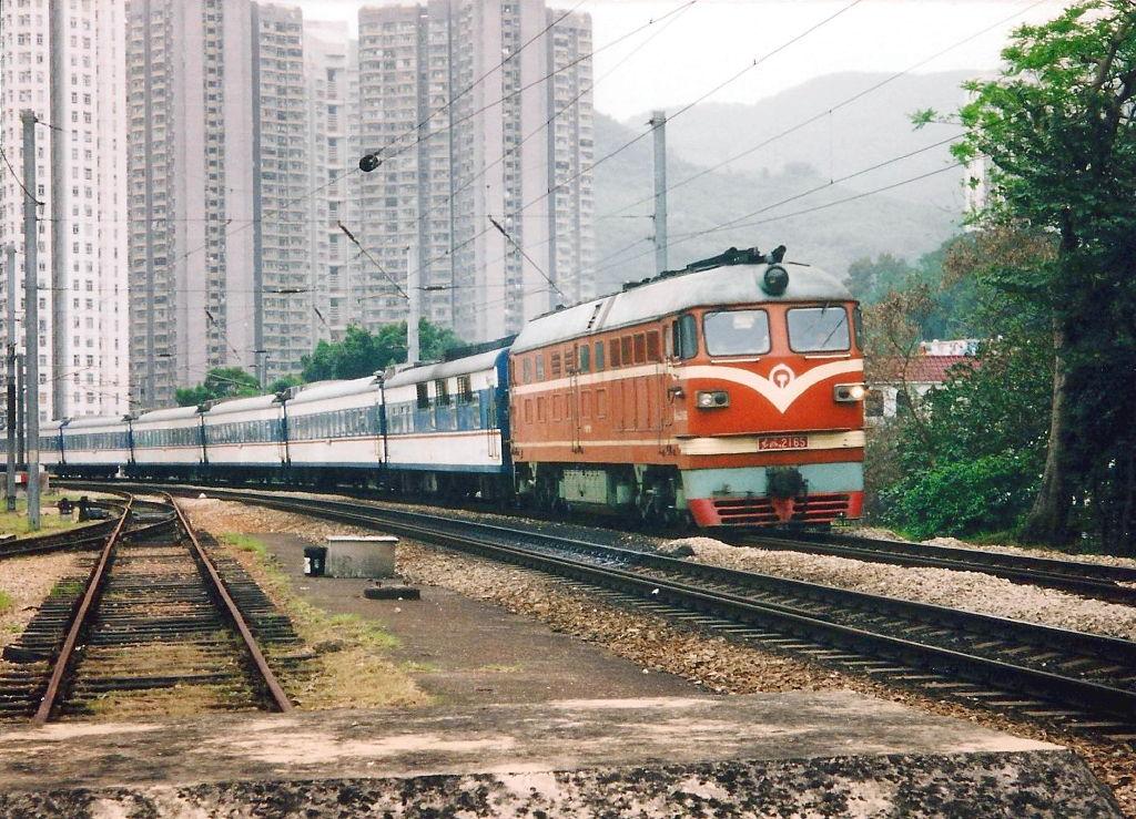ユーラシア大陸鉄道横断旅行 Go West!1996その2・香港・鉄路博物館-0211