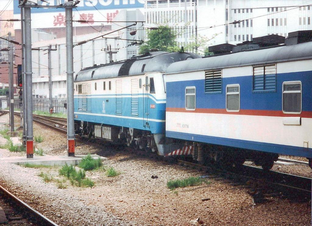 ユーラシア大陸鉄道横断旅行 Go West!1996その2・香港・鉄路博物館-0213